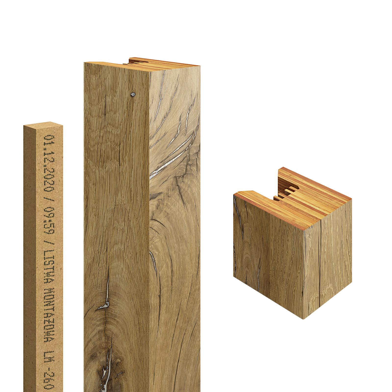 Lamel Miodowe Drewno