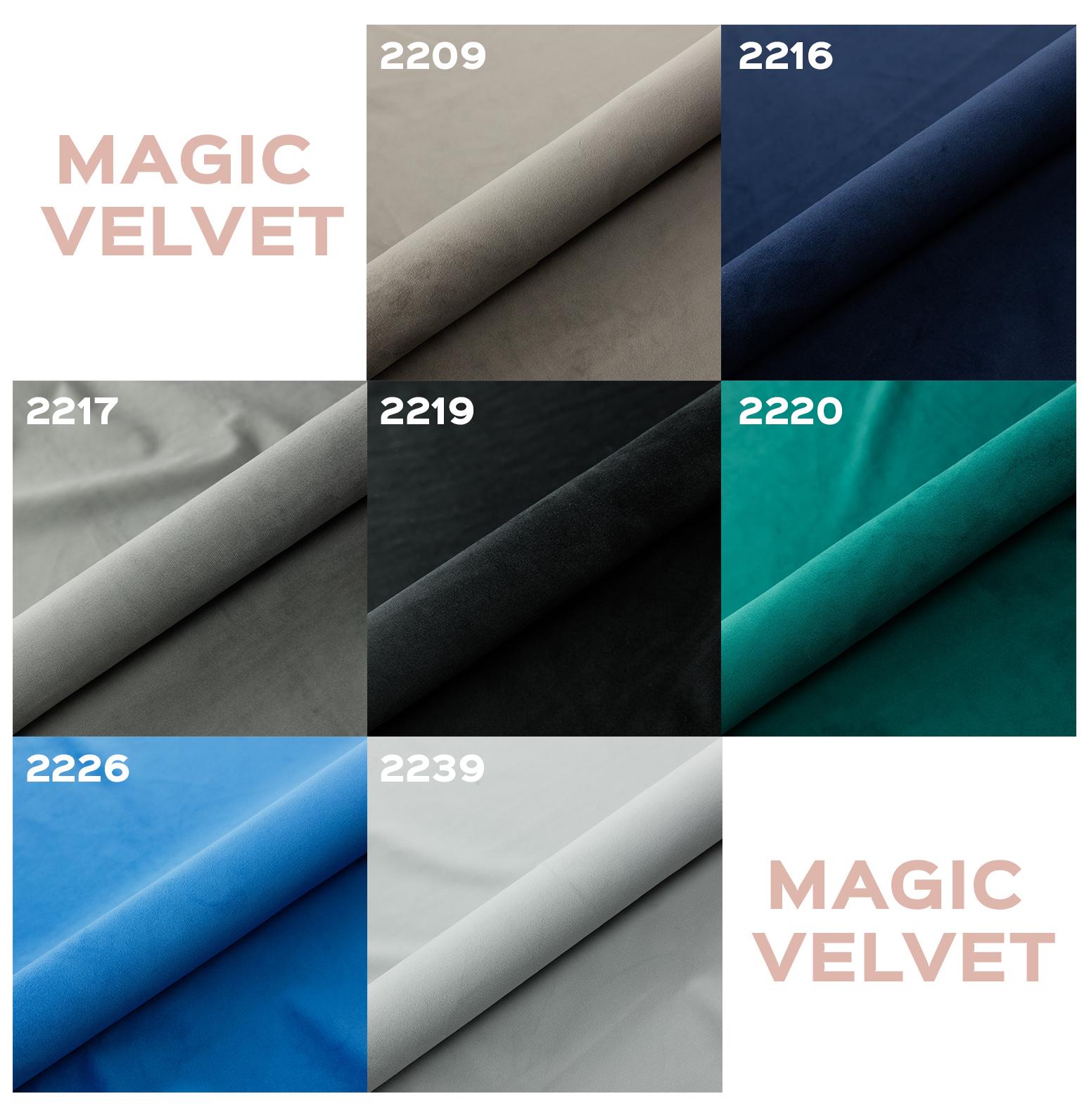 Dostępne kolory Magic Velvet