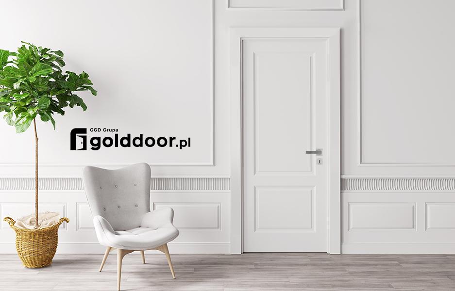 Baner Białe Drzwi