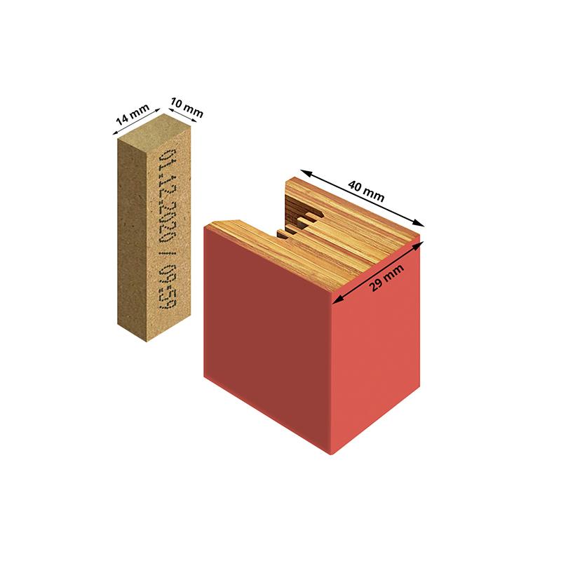 Wymiary lamela